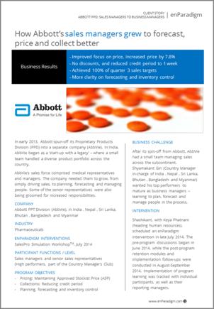 Abbott PPD Sales Transformation